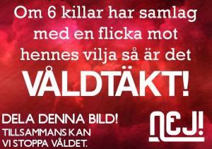 Fonte: https://www.facebook.com/nejtillmansvaldmotkvinnor