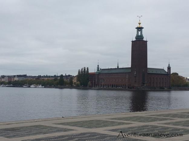 Riksdagshuset - Parlamento sueco situado em Estocolmo.