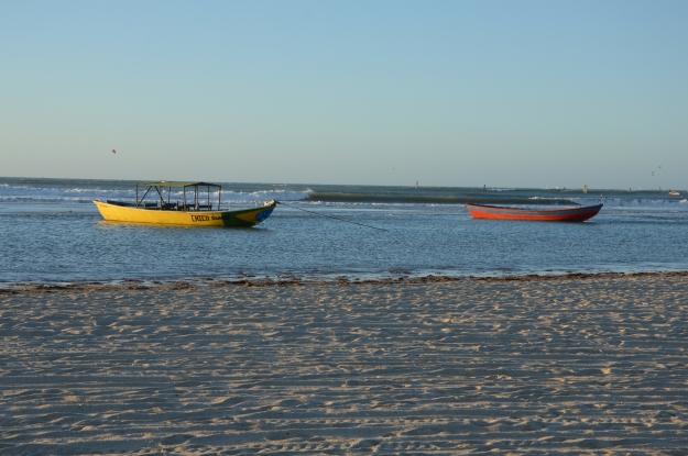 Barco de pescadores em Jericoacoara